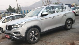 Mahindra Rexton (G4 SsangYong Rexton) spied testing in India