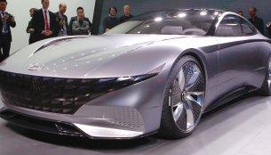 Hyundai Le Fil Rouge concept makes world debut at 2018 Geneva Motor Show