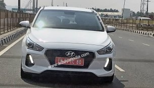 Third-gen Hyundai i30 spied testing in India for the first time