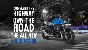 Mahindra Mojo UT300 launched at INR 1.39 lakhs