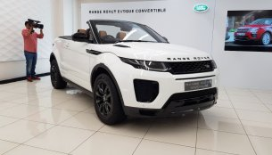 Range Rover Evoque Convertible on sale in India for INR 69.53 lakhs
