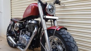 Royal Enfield Thunderbird 350 Spartan by Bulleteer Customs