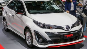 TRD variant of the India-bound Toyota Yaris unveiled at Bangkok Motor Show