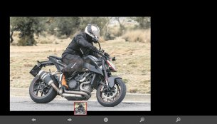 Updated KTM 1290 Super Duke R spied