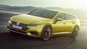 VW Arteon Shooting Brake imagined - Rendering