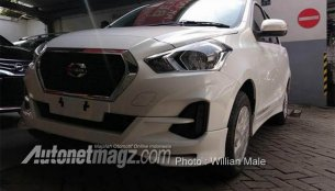 2018 Datsun Go (facelift) spied completely undisguised, gets CVT