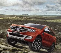 2018 Ford Everest (2018 Ford Endeavour) with 2.0L Bi-Turbo engine, 10-speed AT leaked