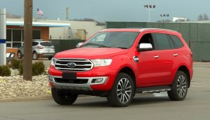 2018 Ford Everest (2018 Ford Endeavour) spied undisguised in the USA