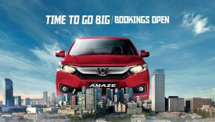 2018 Honda Amaze pre-launch bookings officially open
