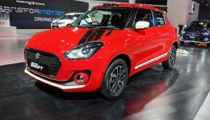 2018 Maruti Swift accessories detailed