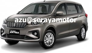 2018 Suzuki Ertiga (2018 Maruti Ertiga) exterior leaked online