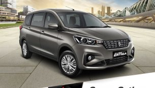 Heartect-based 2018 Suzuki Ertiga (2018 Maruti Ertiga) petrol delivers 18.06 kmpl mileage