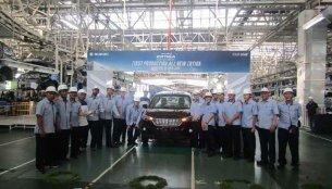 2018 Suzuki Ertiga series production commences in Indonesia
