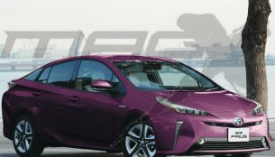 2019 Toyota Prius (facelift) to look similar to Toyota Prius PHV - Report