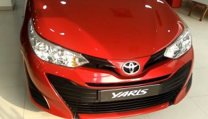 Base-spec Toyota Yaris J spotted at a dealership [Video]