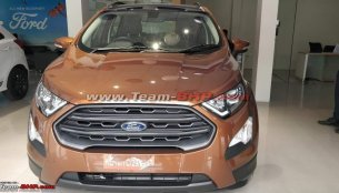 Fully-loaded Ford EcoSport Titanium S will be launched in May - Report