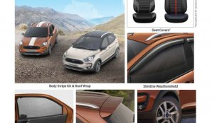 Ford Freestyle accessories detailed