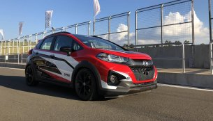Honda WR-V Turbo showcased