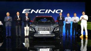 Hyundai Kona launched in China as the Hyundai Encino