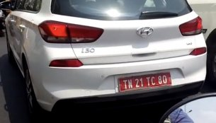 Hyundai i30 spied testing in India again