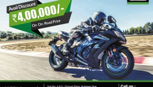 Kawasaki offers discounts for its products at a dealer level