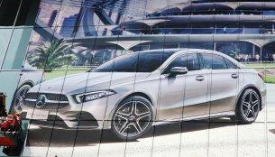 Mercedes A-Class Sedan leaked ahead of world debut next week