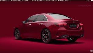 Chinese-spec Mercedes A-Class Sedan revealed [Video Update]