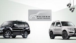 Mitsubishi Pajero Final Edition (Mitsubishi Montero Final Edition) revealed