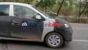 Hyundai AH2 (New Hyundai Santro) spotted in Gurugram [Update]