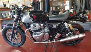Royal Enfield 650 Twins with new colour schemes spotted