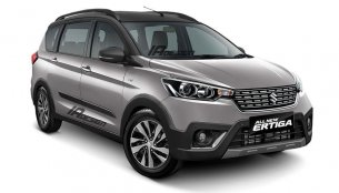 Suzuki Ertiga Cross (Maruti Ertiga Cross) rendered