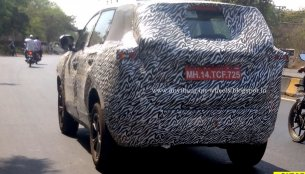Purported Tata H7X (7-seat Tata H5X) test mule spotted [Update]