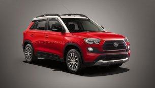 Toyota Vitara Brezza - IAB Rendering [Colours update]