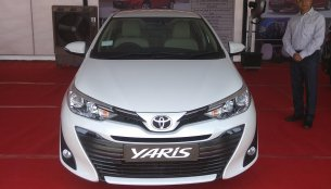 Pre-launch internal activities for the Toyota Yaris commence