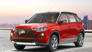 Here's another take on the Toyota Vitara Brezza