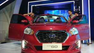 2018 Datsun GO (facelift) and 2018 Datsun GO+ (facelift) - In 7 Live Images
