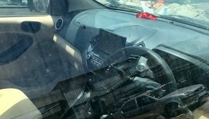 2018 Ford Aspire (facelift) interior spied, features floating central display