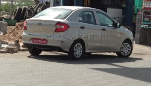 2018 Ford Aspire (facelift) spotted undisguised