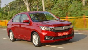 2018 Honda Amaze crosses the 50,000 unit sales milestone in 5 months