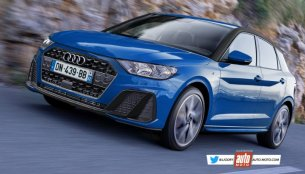 2019 Audi A1 (Audi AU270) rendered in near-production guise