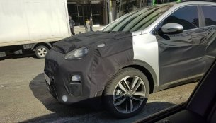 2019 Kia Sportage (facelift) spied on South Korean roads again