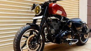 Customized Royal Enfield 'Agira' by Bulleteer Customs