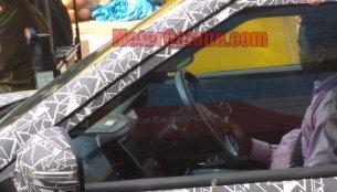 Mahindra's Vitara Brezza challenger spied again, interior partially revealed