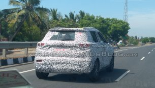 Mahindra S201 in production guise spied yet again [update]