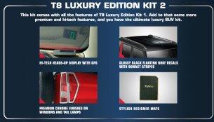 Mahindra TUV300 Luxury Edition Kits introduced