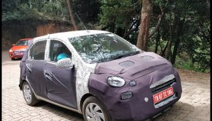 New Hyundai Santro (Hyundai AH2) spotted in Nilgiri Mountains