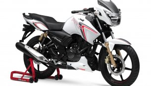 TVS Apache RTR 180 Race Edition launched at INR 83,233