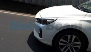 Uncamouflaged test mule of Hyundai i30 spotted again on Indian roads
