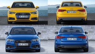 2016 Audi A4 vs. 2019 Audi A4 - Old vs. New
