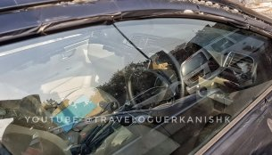2018 Maruti Ciaz facelift spy shot partially reveals updated interior; gets cruise control